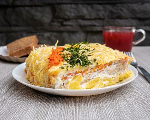 Булкаешька-салат-мимоза