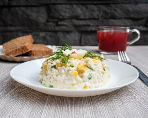 Булкаешька-салат-крабовый