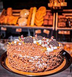 Булкаешька-торт-шоколадно-банановый