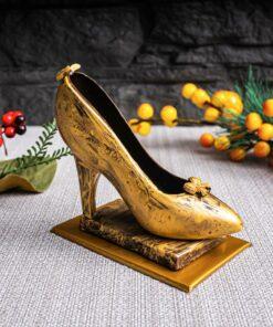 Шоколадная туфелька (золотая)